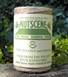 Nutscene 120 m Twine Rolls - Natural (Pack of 3)