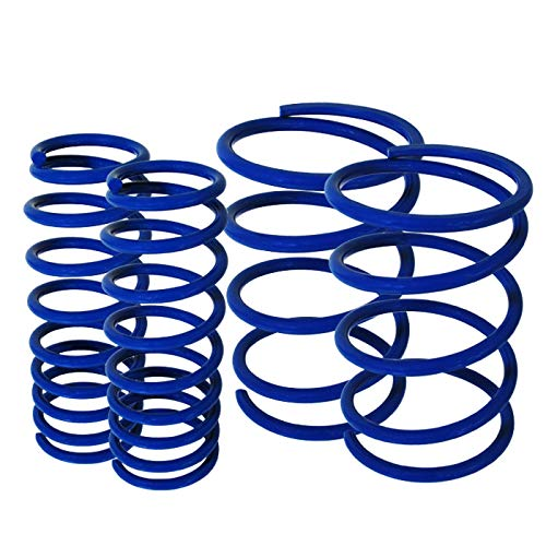 Fit 2002-2006 Nissan Altima Suspension Lowering Spring Blue (Front - 1.9