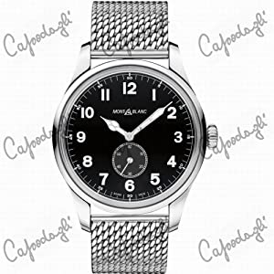 Montblanc 115074 1858 Automatic Small Second Mens Watch
