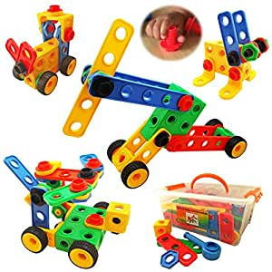 Amazon.com: Nuts and Bolts Building Toy for Toddlers to