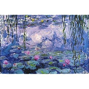 Claude Monet The Water Lilies Nympheas Painting Wall Decor Art Print 16x20
