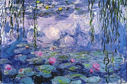 Claude Monet Nympheas Water Lillies Art Print Poster 12x18 inch