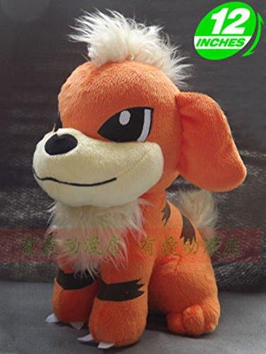 pokemon Growlithe plush doll 12