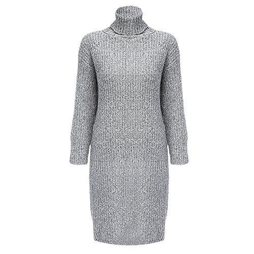 ZAFUL - Vestido - trapecio - para mujer gris