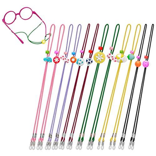 Kids Glasses Strap (12PCS) Kid Eyeglass Strap Sunglasses Retainer for Boys Girls