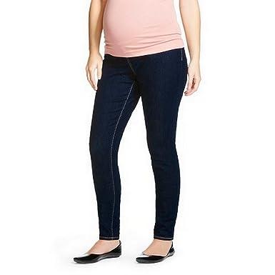 9798d55593c Maternity Over the Bump Dark Wash Jeggings - Liz Lange (22/24):  Amazon.co.uk: Clothing