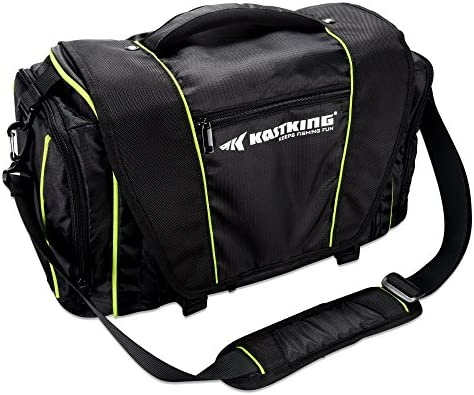 KastKing Tackle Bags – Fishing Bags – Fishing Tackle Bag with Waterproof Pocket – Fishing Gear Bag for 3600 3700 Tackle Box, Fishing Tackle