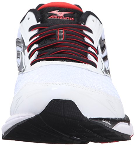 sale original new for sale Mizuno Men's Wave Inspire 12 Running Shoe White/High Risk Red LThUwI