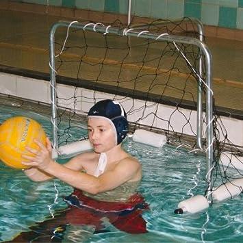 Accessoires de piscine Fun Jouer en aluminium Aqua Eau Polo Jeux Mini but
