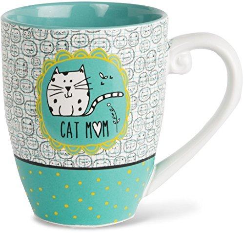 It's Cats & Dogs Cat Mom Ceramic Extra Large Coffee Mug Tea