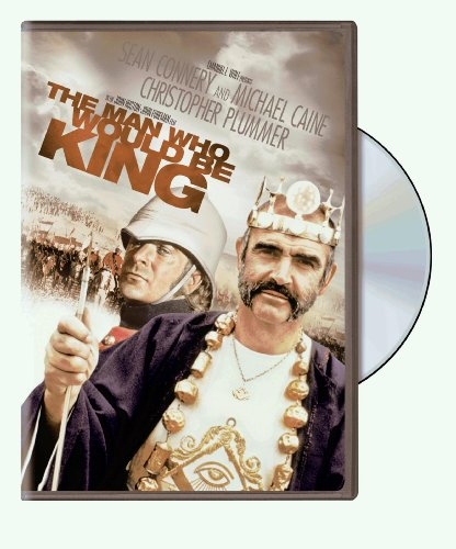 DVD : The Man Who Would Be King (Full Frame, Repackaged, Eco Amaray Case, Widescreen, )
