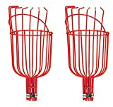 Fruit Tree Picker Harvester for Plucking Long Hard to Reach Fruit Trees Fruit -One or Two (2)