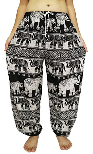 Lovely Creations's Unisex Plus Size Bohemian Pants Waist 24-44