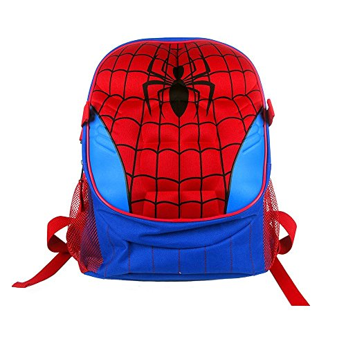 Spider-man Molded Chest 16 Inch Backpack ()