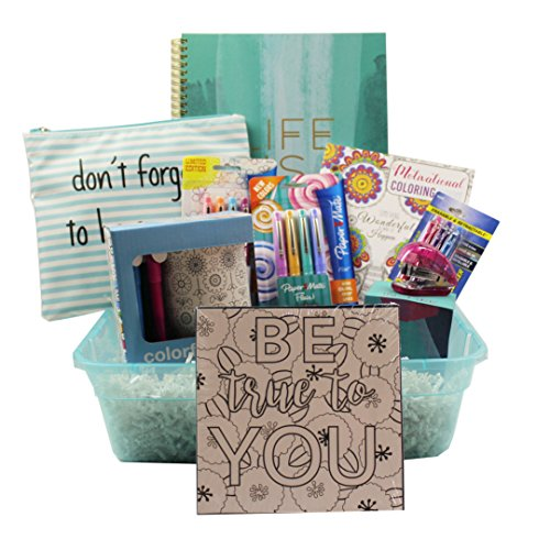 """OMG Tweens """"LIFE IS GOOD"""" Gift Basket - Perfect for Easter,"""