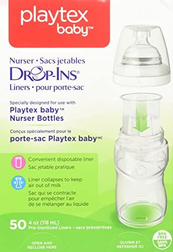 Bottle Liners: Playtex Drop-Ins Liners For Playtex Baby Nurser Bottles