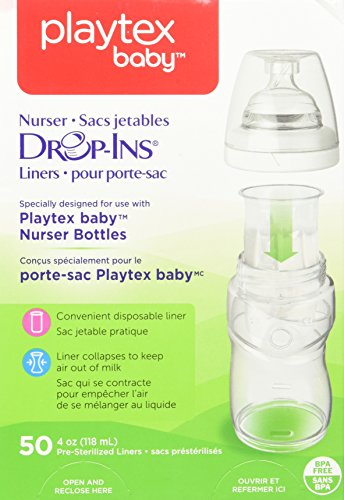 Playtex Drop-INS Liners (50) 4 oz