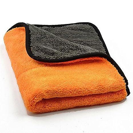 Panno Microfibra Per Asciugare L Auto.Autoscar Microfibra Asciugatura Panno Per Lavanderia Polacco Senza Graffi 45 X 38 Cm Panni Pulizia Lavaggio Secco Mobili Casa Auto Polacca Arancione