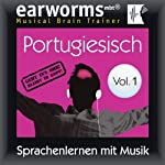 Portugiesisch (vol.1): Lernen mit Musik |  earworms Learning
