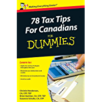 78 Tax Tips For Canadians For Dummies (English Edition)