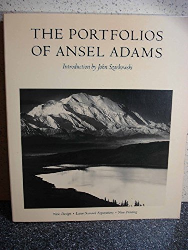 The Portfolios of Ansel Adams (A New York Graphic Society book) (1981-09-21) ()