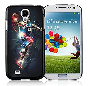 New Custom Design Cover Case For Samsung Galaxy S4 I9500 i337 M919 i545 r970 l720 Cleveland Cavaliers Lebron James 14 Black Phone Case