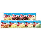 Jell-O Sugar Free Instant Pudding Sampler (Pack of 9 Different Flavors 0.9-1.0oz