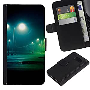 Noche Lote - la tarjeta de Crédito Slots PU Funda de cuero Monedero caso cubierta de piel Para Sony Xperia Z3 Compact / Z3 Mini (Not Z3)