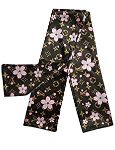 EroTouch Apparel Customs Designer Headbands,Luxury Fashion Trendy Headwrap for Women Mens LV Flower Brown