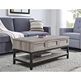 Lift Up Coffee Table Ameriwood Home Barret, Lift Up Coffee Table