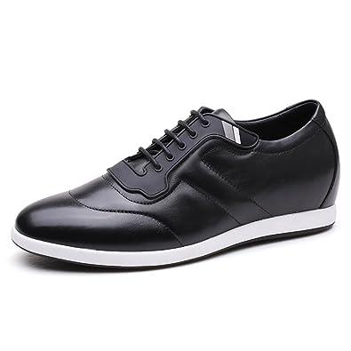 45f4e44da8e2 CHAMARIPA Chaussure rehaussante Talonnette Sneaker pour Homme - 6 cm Plus  grand-H72305K111D