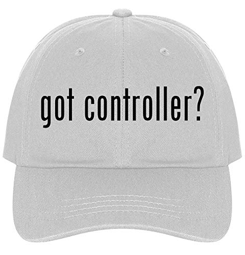 The Town Butler got Controller? - A Nice Comfortable Adjustable Dad Hat Cap, White (Caps Controller Dj)