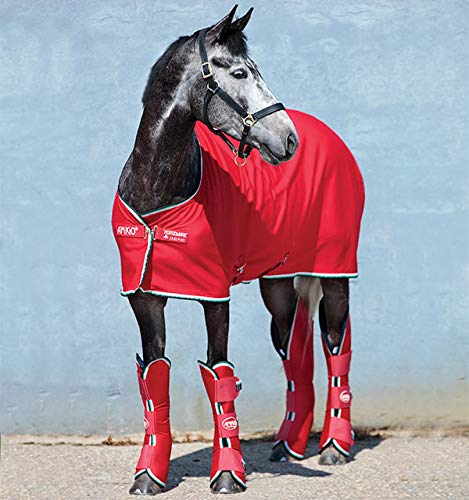 AMIGO Horseland Ireland Jersey Cooler, Red/White/Green/Black, for sale  Delivered anywhere in USA