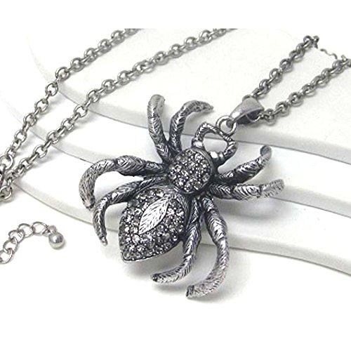Dusky Spider Large Antiqued Si