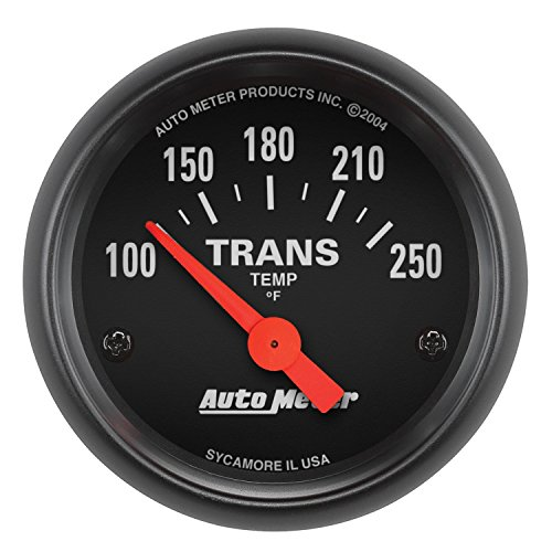 Auto Transmission - Auto Meter 2640 Z-Series Electric Transmission Temperature Gauge