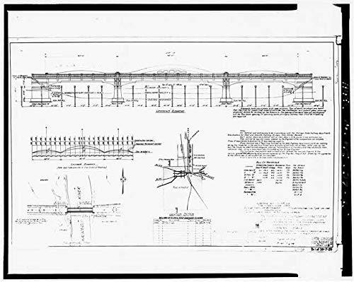 HistoricalFindings Photo: Mosel Avenue Bridge,Kalamazoo River,Kalamazoo County,Michigan,MI,Engineering,24 (Kalamazoo Furniture)