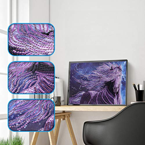 Painting Gemstone - 5D Diamond Painting, Rhinestone Pasted DIY Embroidery Paintings,Cross Stitch Kits, Gem-Stones, Diamond-Paintings-for-Adults, Full-Drill-Diamond-Painting-Clearance-Sale