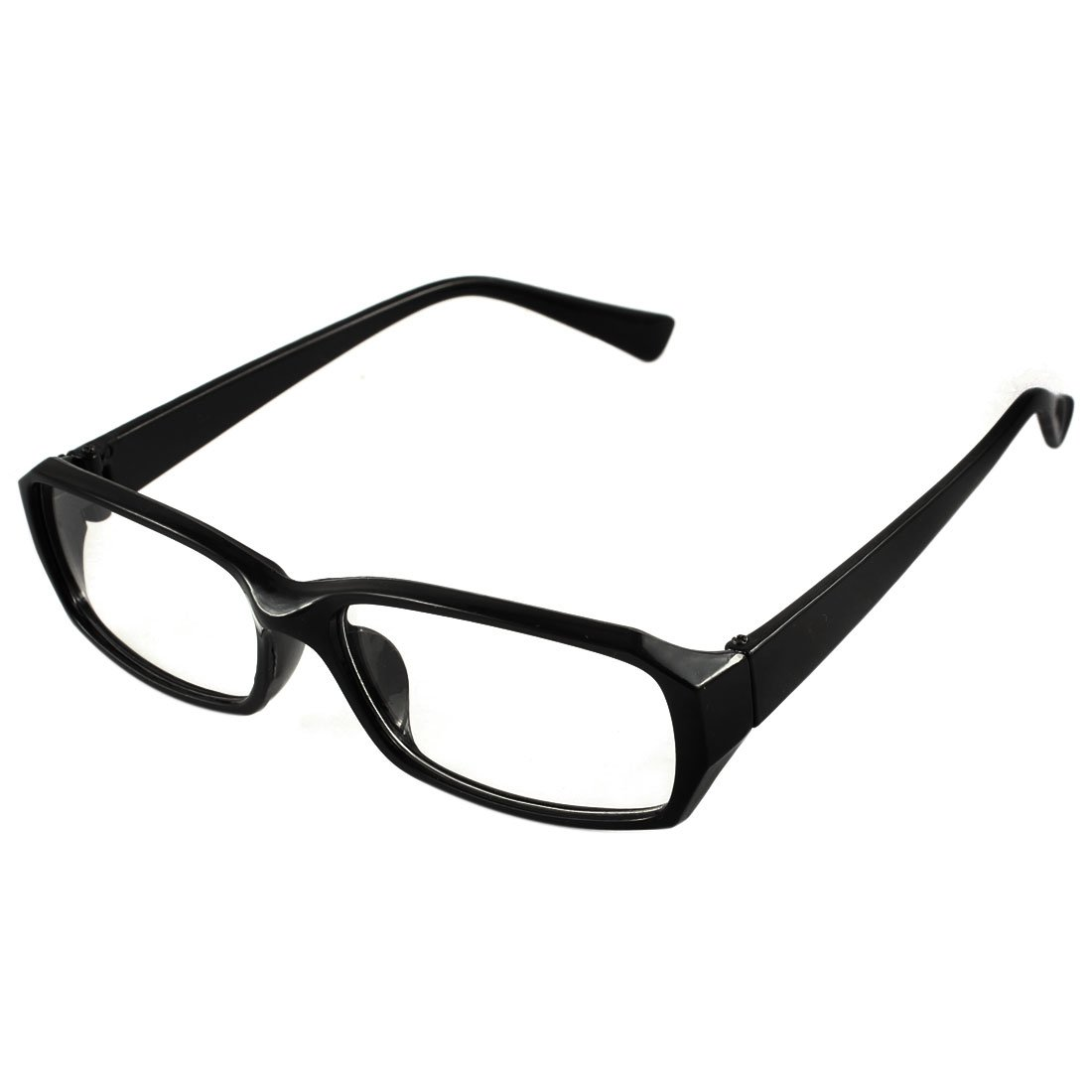 77f2ad8943f Amazon.com  uxcell Unisex Chic Eyeglasses Glasses Eyewear Plain Rectangular  Spectacle Frame Black  Clothing