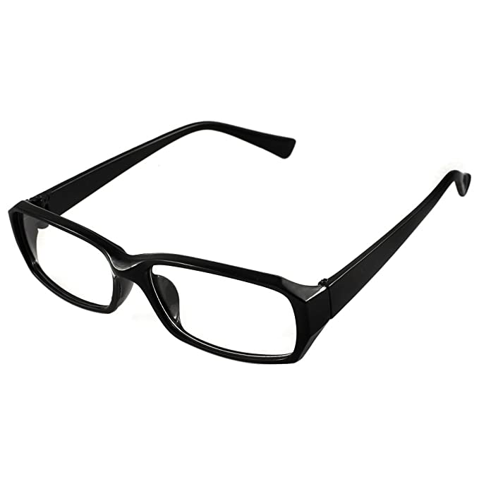 d2604d5bdf HIgh Fashion Chic Eyeglasses Glasses in Black Rectangular Spectacle Frame   Amazon.ca  Clothing   Accessories
