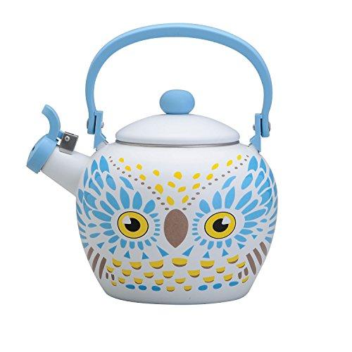 yellow tea kettle whistling - 8