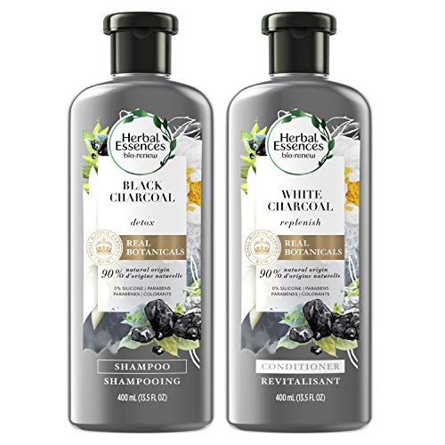 Herbal Essences, Shampoo and Sulfate Free Conditioner Kit, BioRenew Activated Charcoal, 13.5 fl oz, Kit
