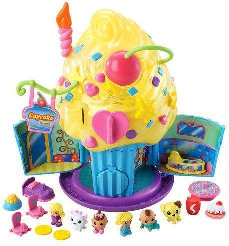 Игрушка Adorable Squinkies Cupcake Surprize Bake