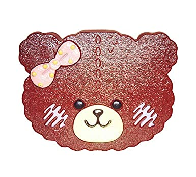 49842ac4a Super Cute Brown Bear with Pink Bow Tie Contact Lens Box: Amazon.ae ...