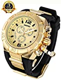 Trustworthy Men Big Size And heavy Gold-Tone Case Sport Watches