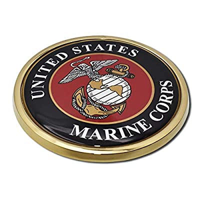 Elektroplate Marine Seal Chrome Auto Emblem: Automotive