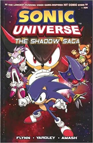 Amazon Com Sonic Universe 1 The Shadow Saga 9781879794863 Sonic Scribes Books