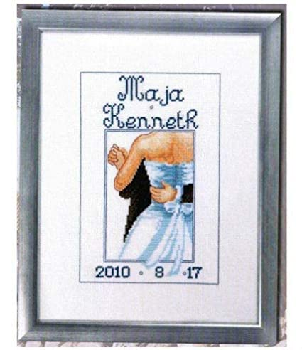 Wedding Factory Direct.Amazon Com Zamtac Embroidery Package First Class Cross Stitch Kits
