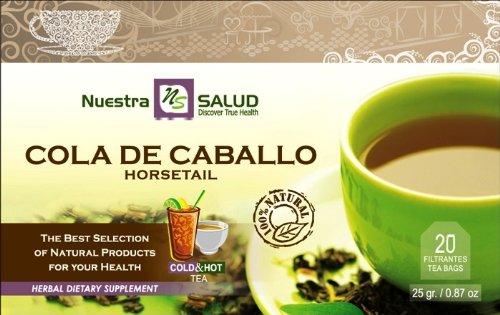 Cola De Caballo Horsetail Herbal Filter Tea (20 tea bags)