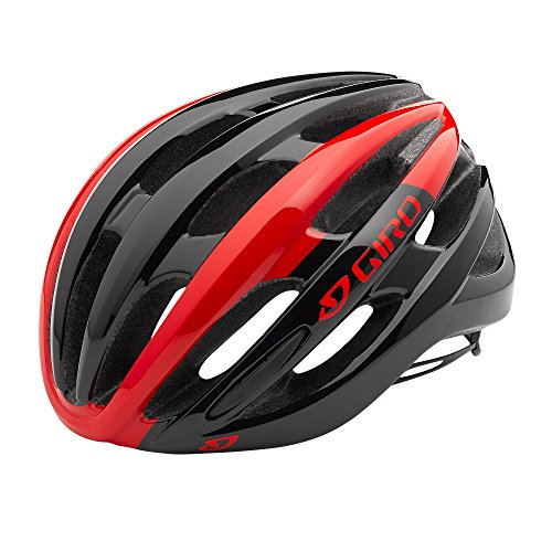 Giro Foray MIPS Helmet Bright Red White Black, M