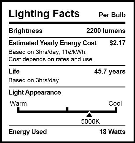 Sunco Lighting 10 Pack 4FT T8 LED Tube, 18W=40W Fluorescent, Clear Cover, 5000K Daylight, Single Ended Power (SEP), Ballast Bypass, Commercial Grade - UL by Sunco Lighting (Image #3)